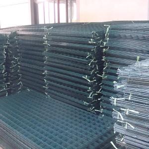PVC-pinnoitettu HITSATUT verkko paneeli